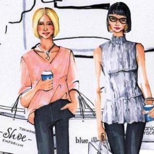 Laura Churchill AW18 Fashion Workshop