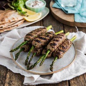 asparagus koftas - indulge