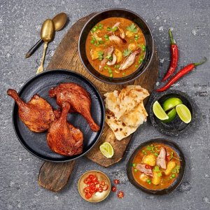 Red Curry Duck Legs - Indulge Magazine