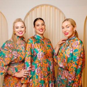 Caitlyn Dooley, Emilia Montague and Sarah Lucienne