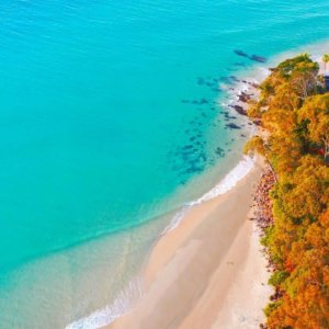 First Point Noosa Arial Shot